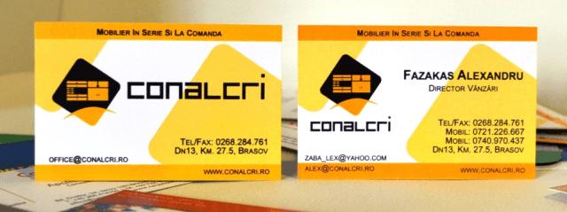 Carte Vizita Conalcri SRL